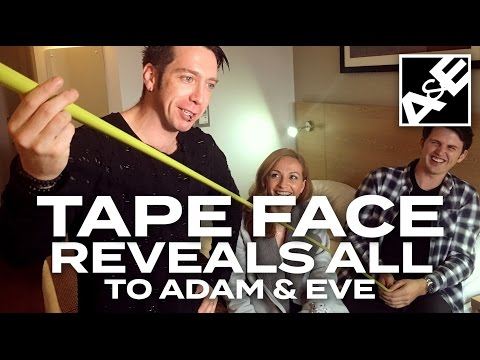 Tape Face's Traveling Case REVEALED!