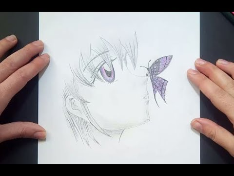 Como Dibujar Un Rostro Anime A Lapiz How To Draw An Anime Face In