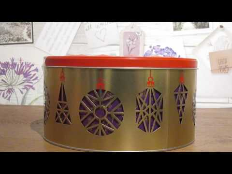 Musical Christmas Biscuit Tin - Marks & Spencer