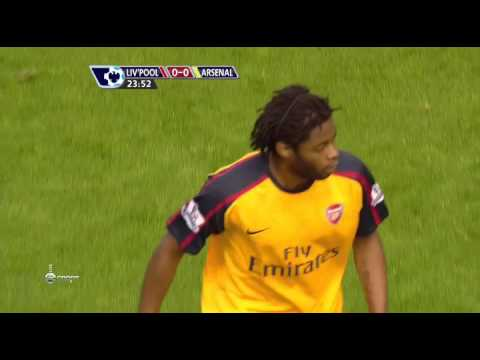 Полный матч Ливерпуль - Арсенал (21.04.2009) - Черданцев: первый тайм.