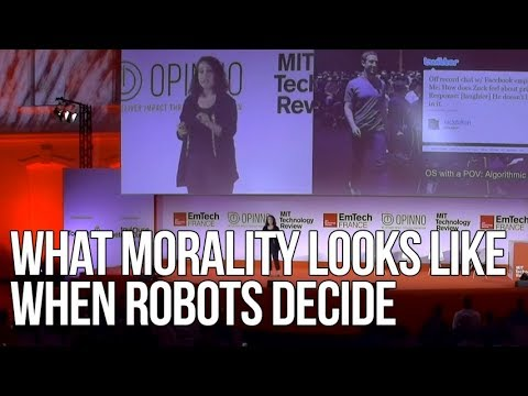 What Morality Looks Like When the Robots Decide | Rahaf Harfoush