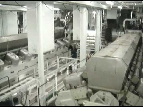 Oasis of the Seas Engine Room