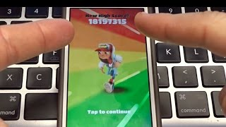 Over 18,000,000 Points on Subway Surfers!? No Hack!