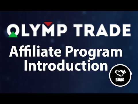 Olymp Trade Affiliate Program Introduction - How To Create A Olymp Trade Affiliate Account