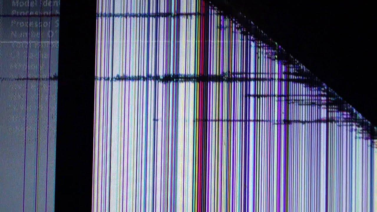 Creeper Broken Screen: Broken Macbook Pro Screen