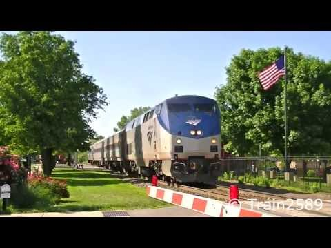 Railfanning Lee's Summit,Mo 5/3/13 in HD.