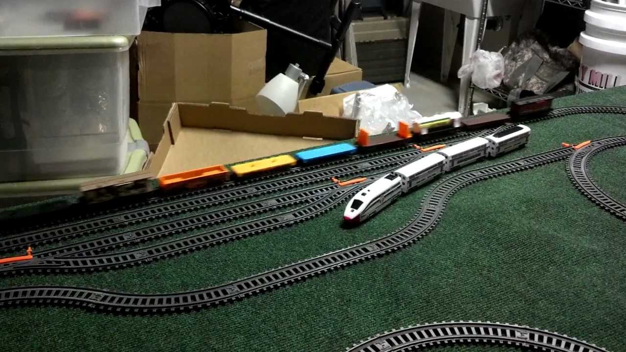 Toys R Us Trains : Toys r us power trains set lines youtube