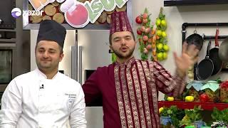 Bananlı Döymə Xəmir, İran Boxçası - Nuş olsun 03.05.2018