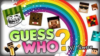 THE BULGARIAN EDITION OF MINECRAFT GUESS WHO (Minecraft Minigame) w/ SimonHDS90