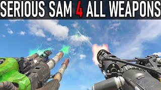 Serious Sam 4 - All Weapons Showcase