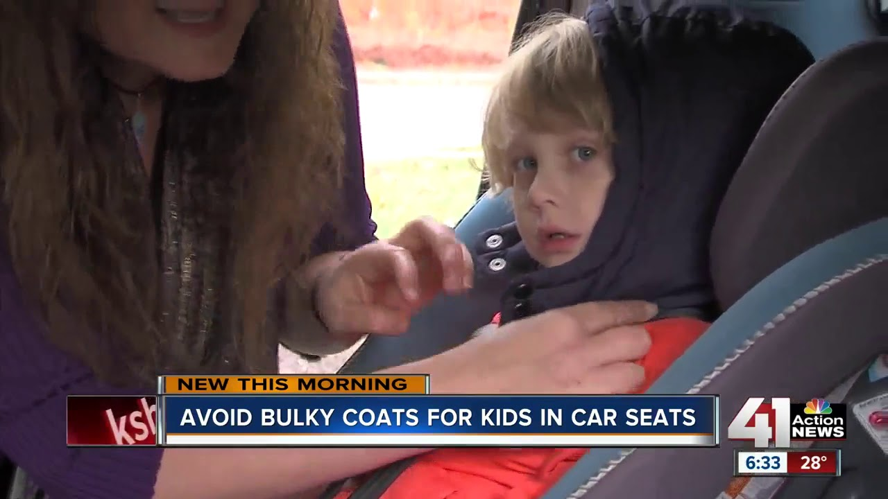 Avoid bulky coats for kids in car seats - YouTube
