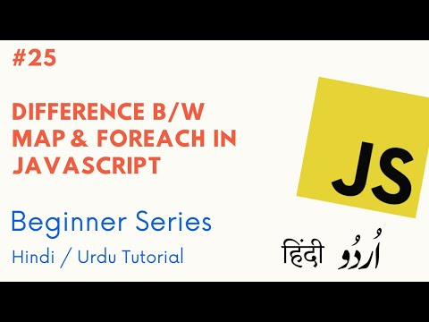 #2 - Map and ForEach Difference Interview Questions - Crack Javascript Interview thumbnail