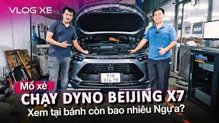 Đoán xem Beijing X7 chạy dyno có mạnh hơn CR-V 1.5 Turbo? | Vlog Xe