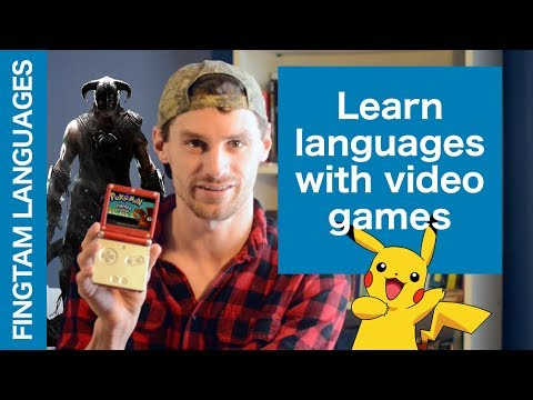 How to Learn languages with video games (2018)