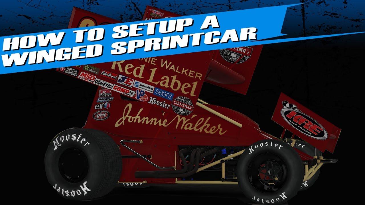 iRacing: How to setup a Winged Sprintcar Basics