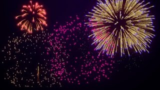 Free Fireworks Background Loop for New Year's /4th of July