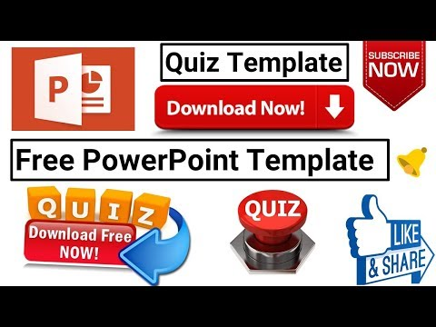 Download Free Template For Making Powerpoint Visual Quiz
