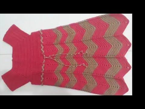 Vestido De Crochê Pra Menina De 6 Anos Parte 1
