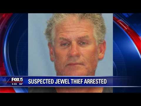 Suspected jewel thief arrested