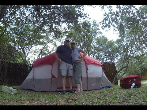 First Time Set Up - Africa Wildlife Tour 2014