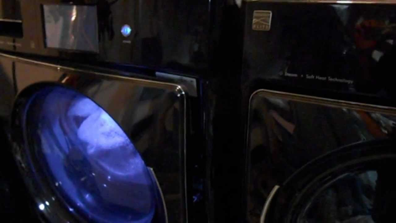 KENMORE ELITE WASHER/DRYER, TOP OF THE LINE, with touch screens, made by ELECTROLUX!, JUNK - YouTube