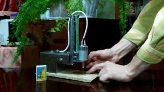 Самодельный сверлильный министанок для сверления отверстий в печатных платах