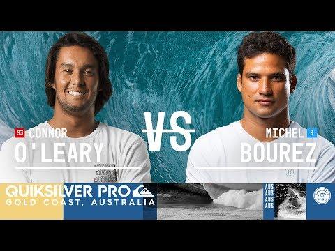 Connor O'Leary vs. Michel Bourez - Round Three, Heat 11 - Quiksilver Pro Gold Coast 2018