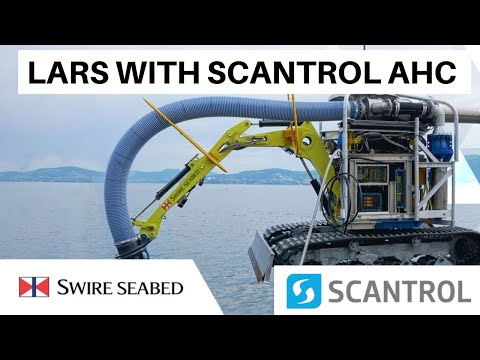 Kongsberg Evotec LARS with Scantrol AHC for Seabed Excavator