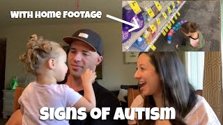 Autism Early Signs | Toddler Signs Of Autism With Footage
