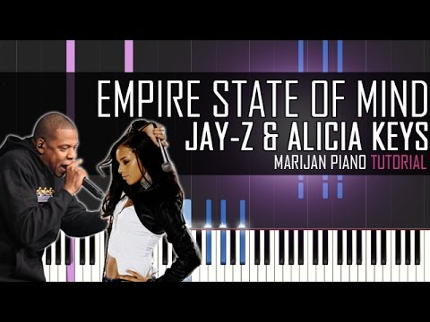 How To Play: Jay-Z ft. Alicia Keys - Empire State Of Mind | Piano Tutorial