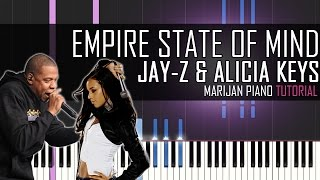 How To Play Jay Z Ft Alicia Keys Empire State Of Mind Piano Tutorial