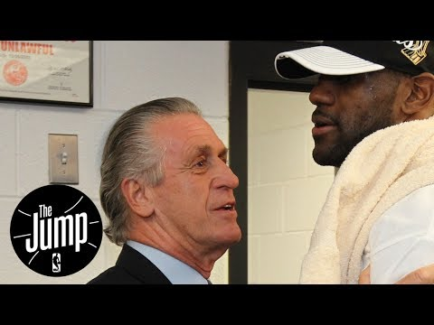 Was Pat Riley Trying To Shade LeBron? | The Jump | ESPN