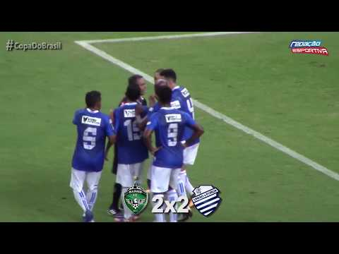 Manaus 2 x 2 CSA – Copa do Brasil 2018