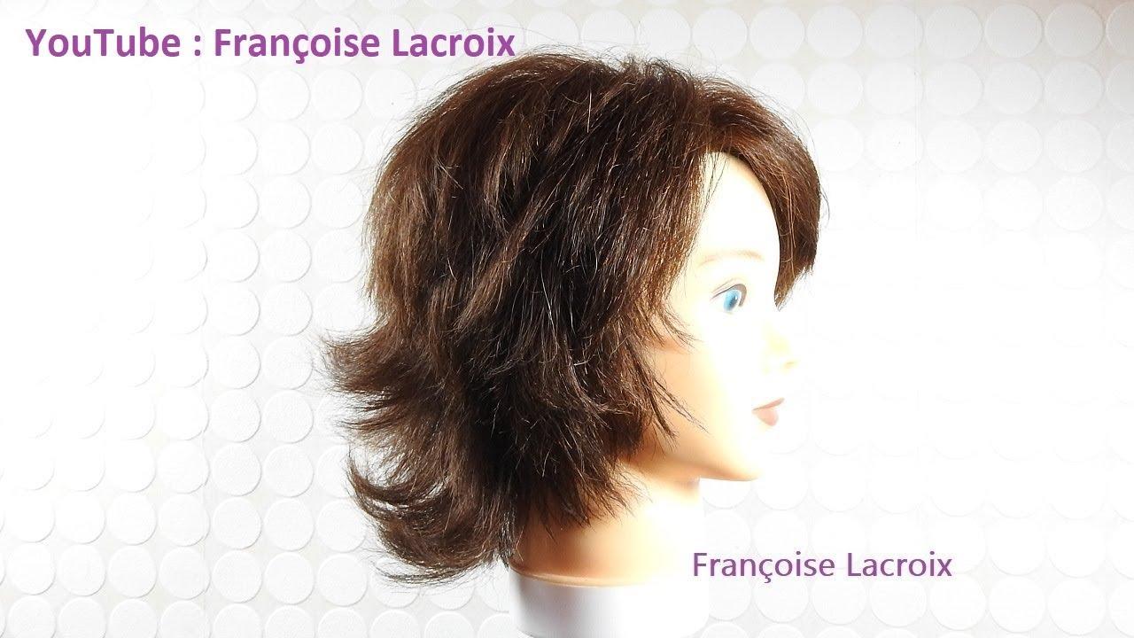 Coupe De Cheveux Femme Courte Degradee Short Haircut For Women Corte De Pelo Corto Para Mujer Youtube