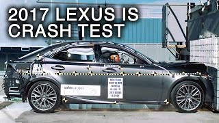 2017 Lexus IS Frontal Crash Test thumbnail