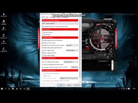 Steps to OC Geforce 9400 gt GPU with MSI Afterburner (works with windows 10 also)
