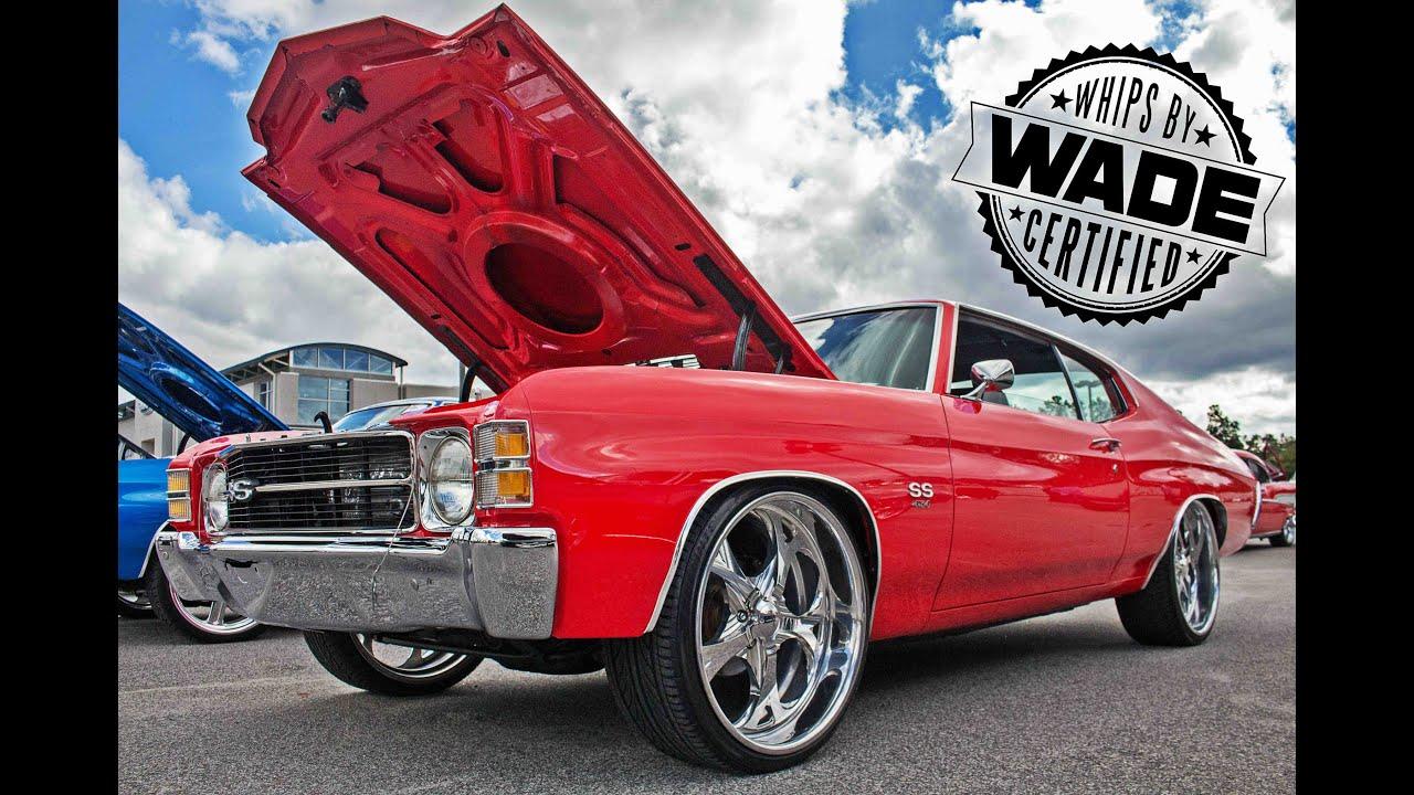Old School Car Club Car Show : 1971 Chevelle on 22\