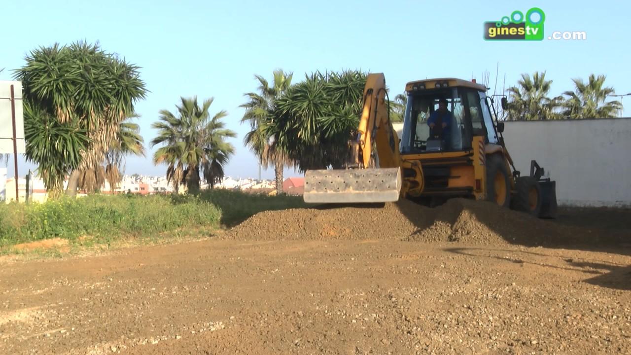 Trabajos de ampliación del aparcamiento del Centro de Salud y mejoras en el de El Cercado