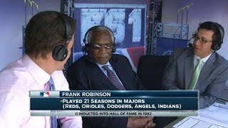KC@CLE: Frank Robinson discusses legendary career
