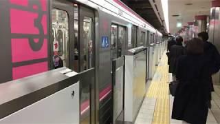大阪市営地下鉄千日前線 なんば駅 Osaka Municipal subway Sennichimae Line Namba Station (2018.1)