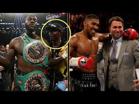 Der wahre Grund, warum Joshua nicht gegen Wilder kämpfen möchte!
