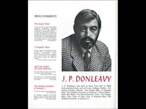 J.P. Donleavy & Stephen Banker interview, ca. 1978