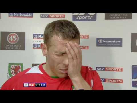 Craig Bellamy Interview vs Finland