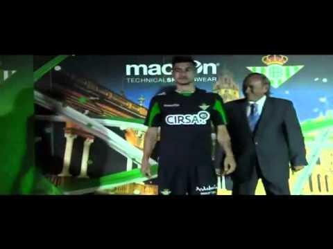 Presentación equipaciones marca Macron Real Betis Balompié 2012-2013 LIGA BBVA