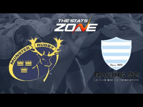 Munster vs Racing 92 | Rugby Champions Cup Live Gameplay |