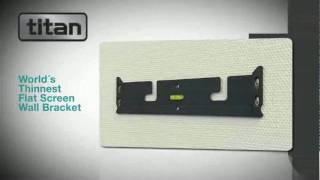 Titan Ultra Slim Fixed Wall Mount Introduction