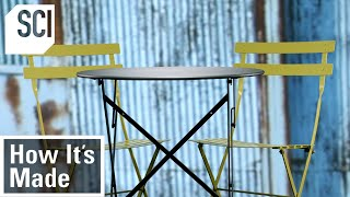 How It's Made: Metal Bistro Sets