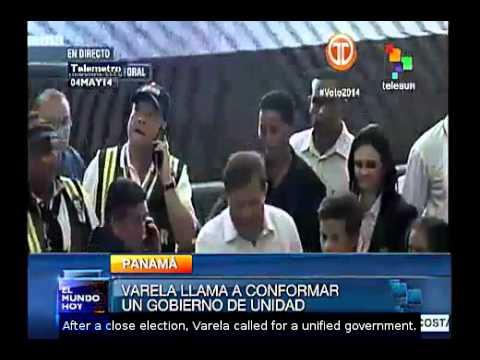 Juan Carlos Varela is the new President of Panama