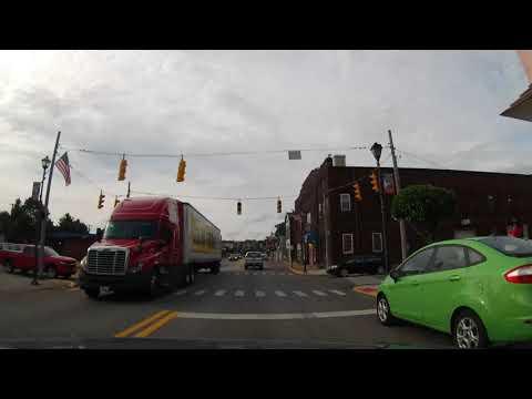 Driving Through Follansbee, West Virginia