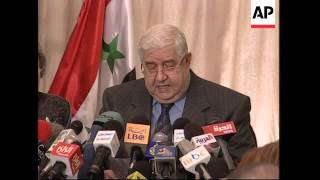 Syrian govt. is committed to withdrawal from Lebanon
